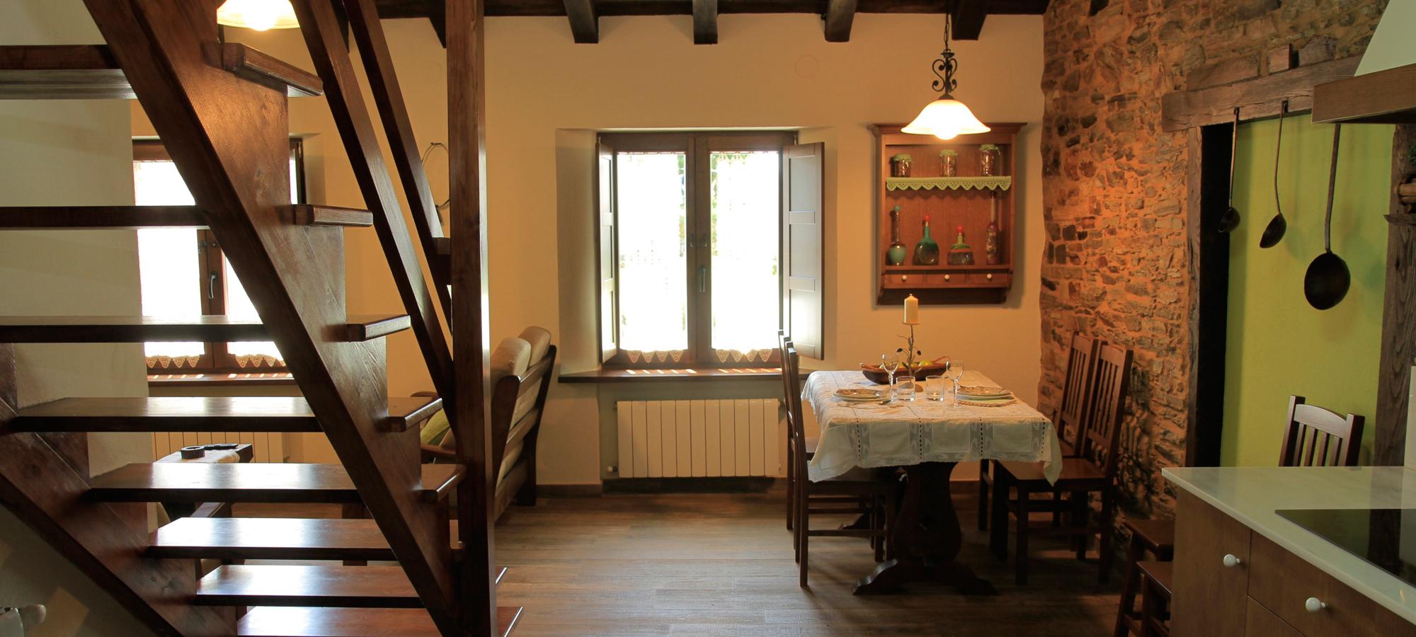 Salón cocina del apartamento Castalao