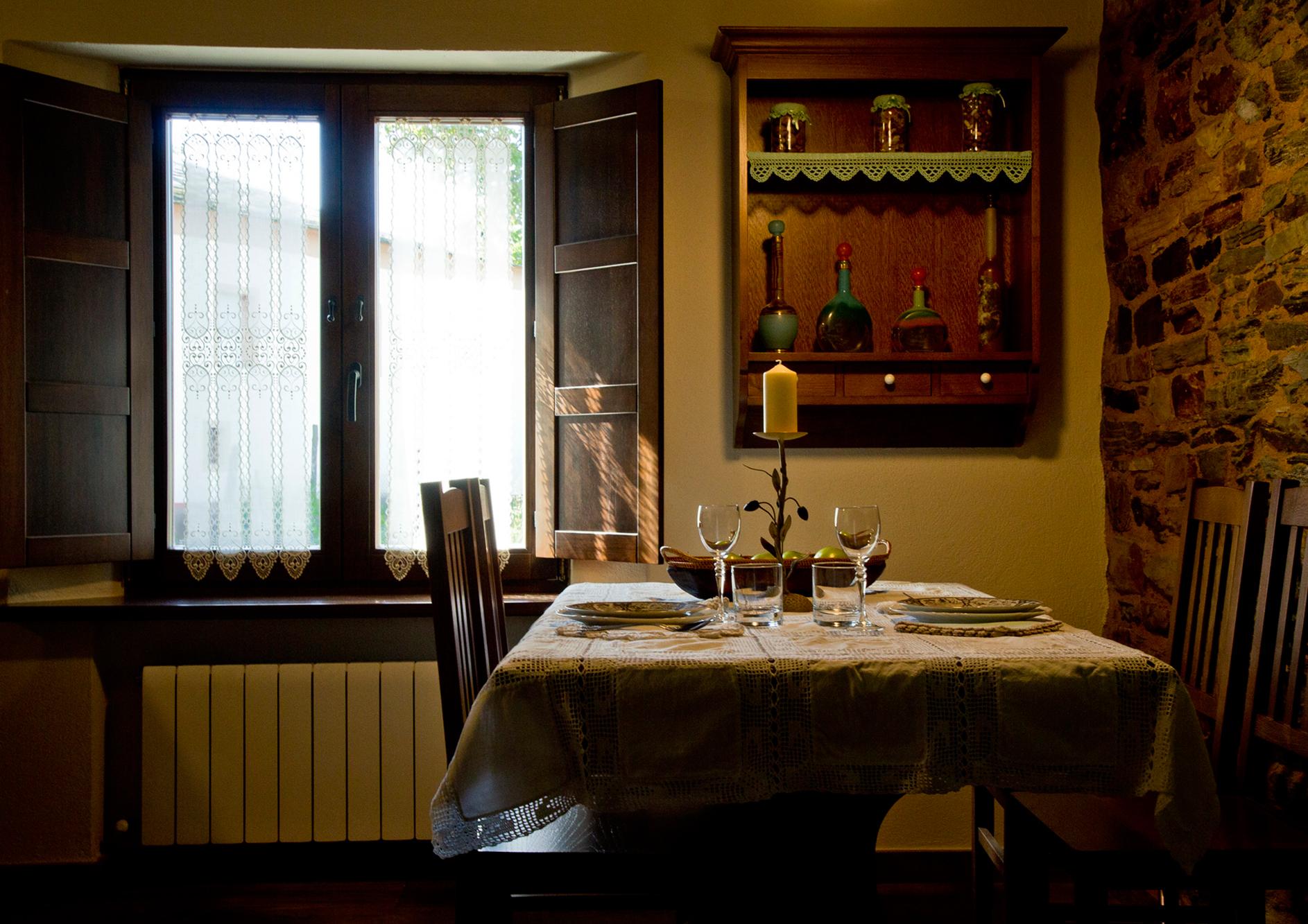 Salón cocina del Apartamento Castelao