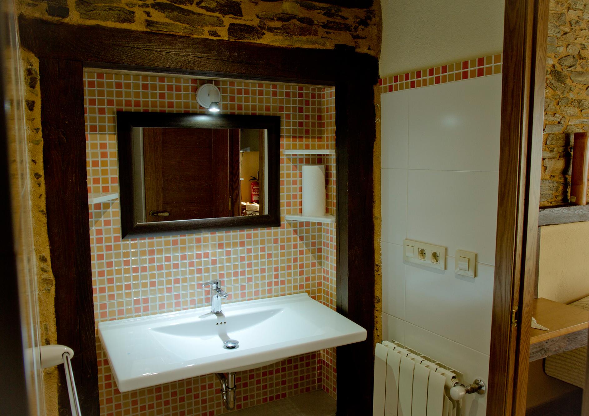 Baño del Apartamento Eduardo Pondal