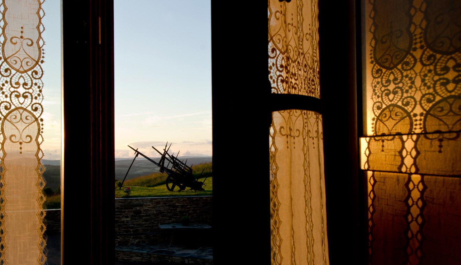 Vistas del entorno desde Casa da Lembranza