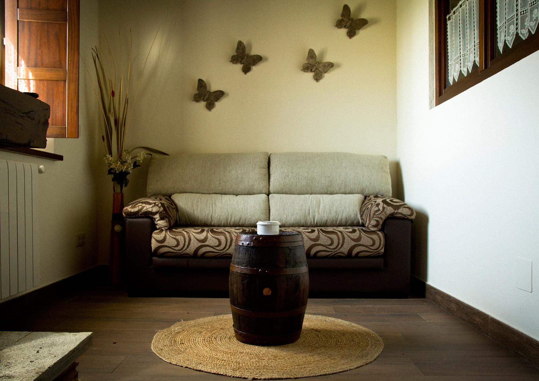 Salón del Apartamento Álvaro Cunqueiro