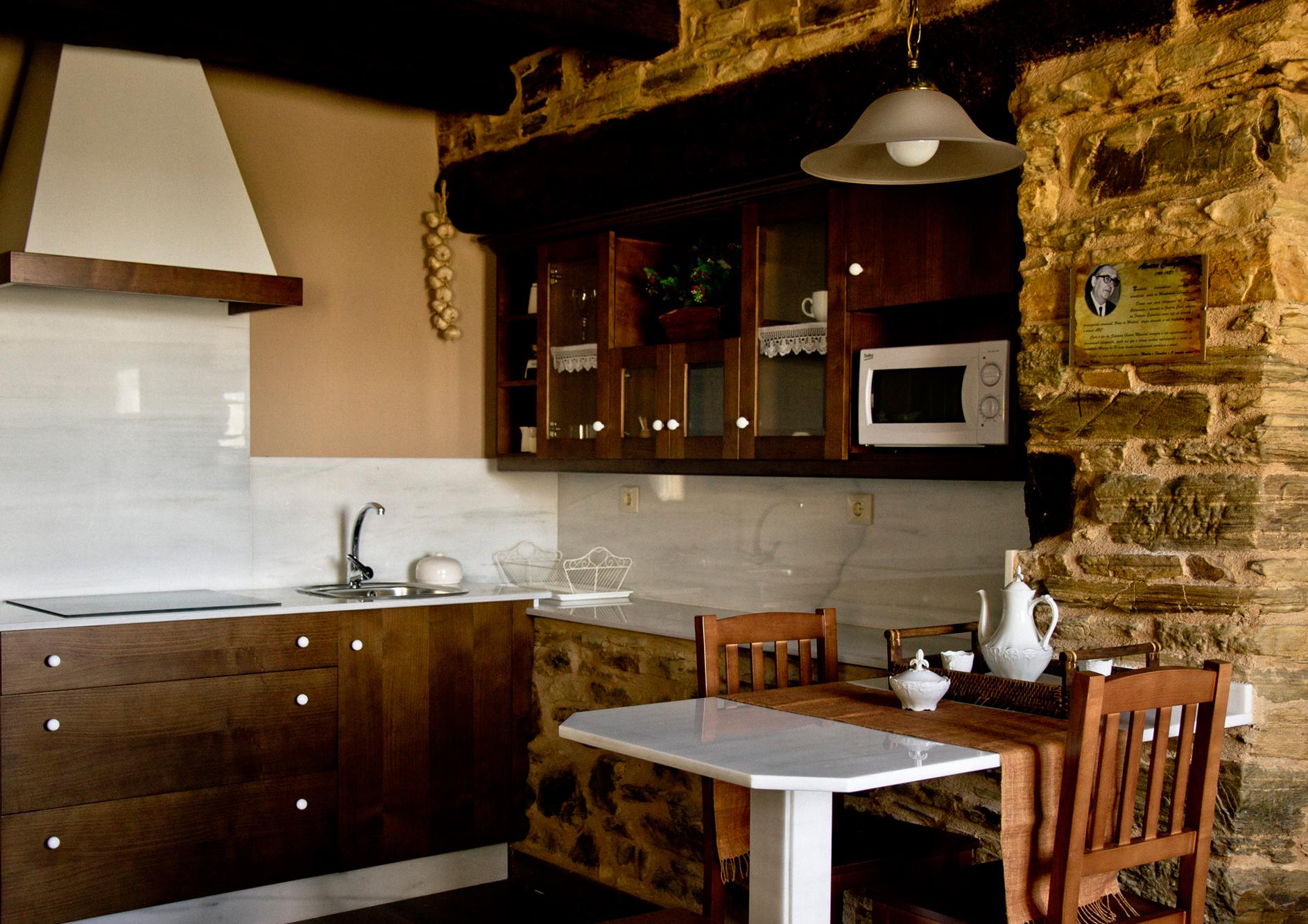 Cocina del Apartamento Álvaro Cunqueiro