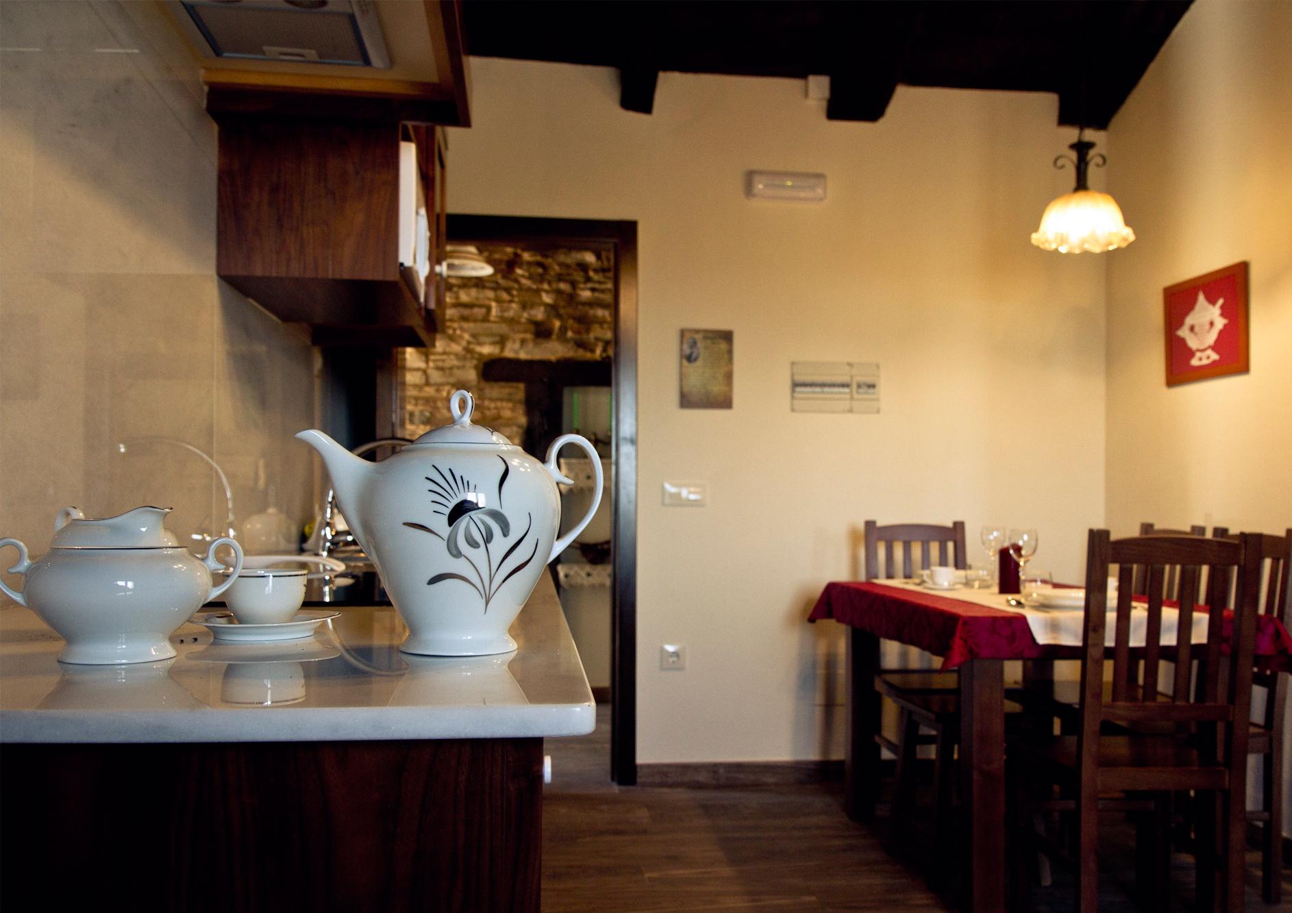 Salón cocina del Apartamento Eduardo Pondal